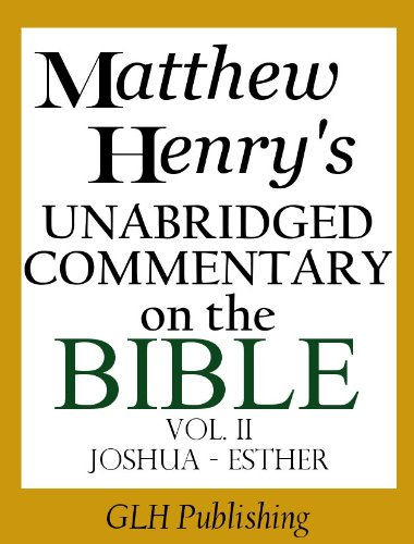 Matthew Henry's Commentary on the Whole Bible (Complete Book on a CD)