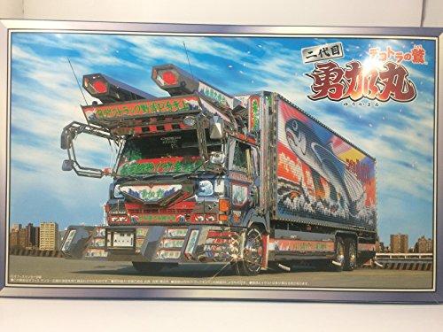青島文化教材社 1/32 大型デコトラ No.61 デコトラの鷲 二代目 勇加丸 ゆうかまる デコトラの鷲 保冷車の商品画像