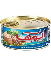 لحم تونا خفيف بالزيت من الوها، 185 غرام، قطعة واحدة V1900