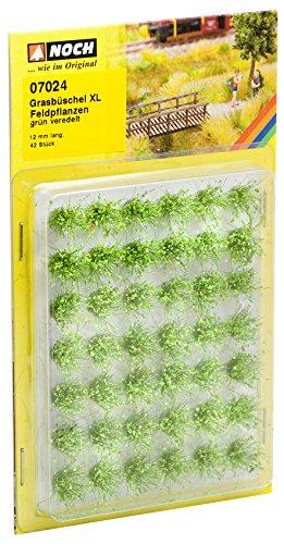XL Noch 07024/Grass Tufts Campo Piante Green Flock Paesaggio Modellare