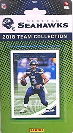 82d878da6 Seattle Seahawks 2018 Donruss NFL Football Factory Sealed Limited Edition  11 Card Complete Team Set Russell