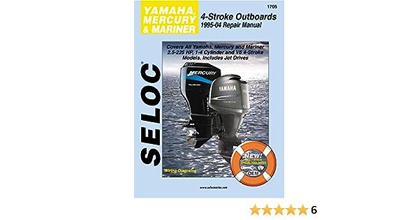 Sierra International Seloc Manual 18-01705 Yamaha Mercury ...