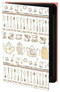 Keka SLP35-BC10-IPH5 - Funda para iPhone 5, diseño de tazas de té de Rebecca Mary Cooper
