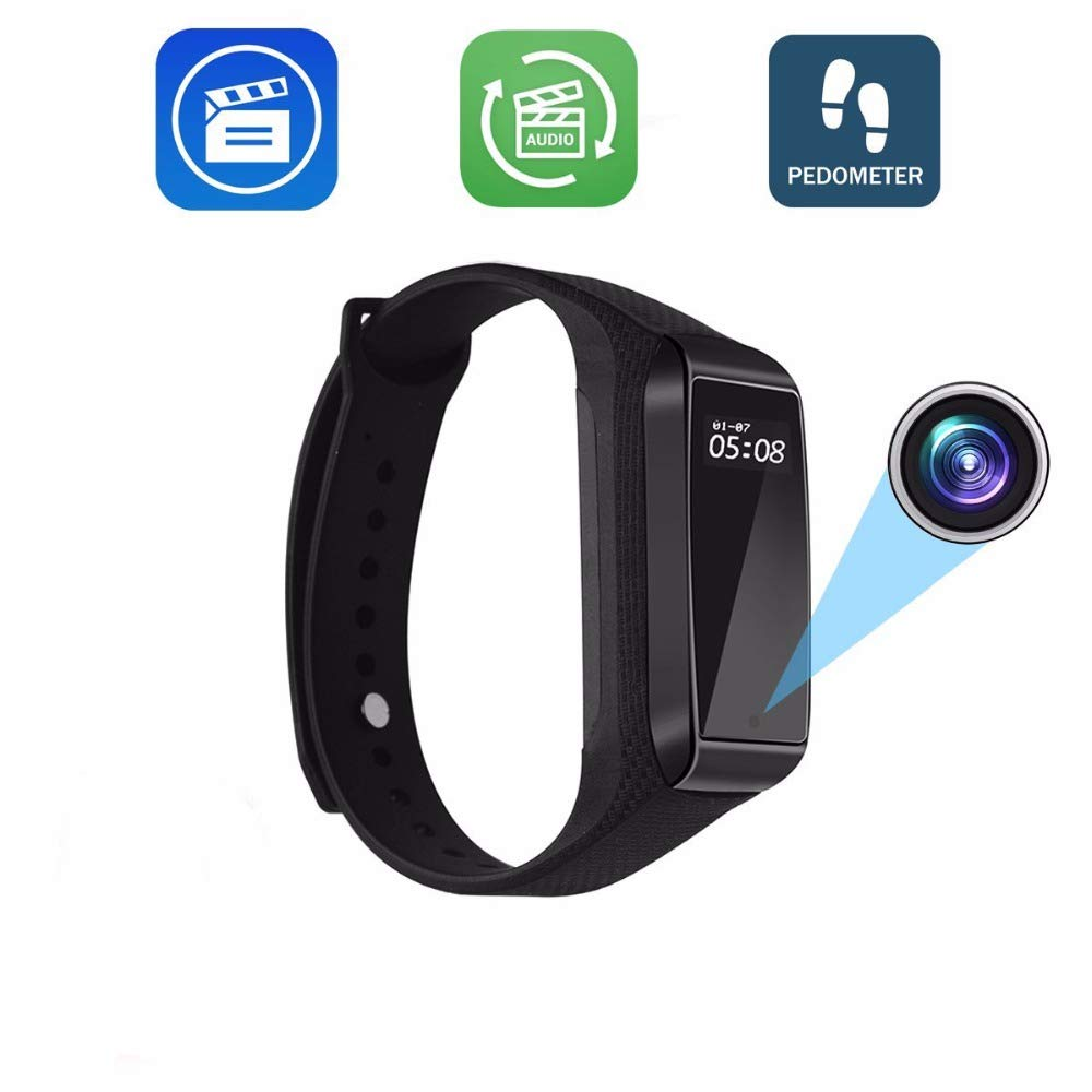 Amazon.com : Fitness Track Mini Camera Bracelet Function Outdoor Sport Using Digital Secret cam Micro Wearable Smart Watch espia voicerecord : Camera & ...