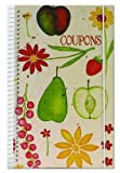 Meadowsweet Kitchens CO/FF Coupon Organizer, Red/Yellow/Pink