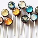 I Want Candy の【 惑星キャンディー 】Planet Lollipop (1個) 米国本店より直輸入 [並行輸入品]