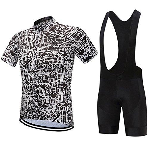 Cycling Jersey Sets Men Mountain Summer Short Sleeve Bike Shirts Pants