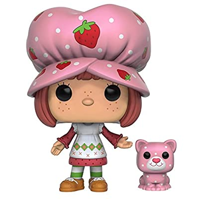 Funko POP Animation: Strawberry Shortcake - Strawberry Shortcake & Custard Action Figure: Funko Pop! Animation:: Toys & Games