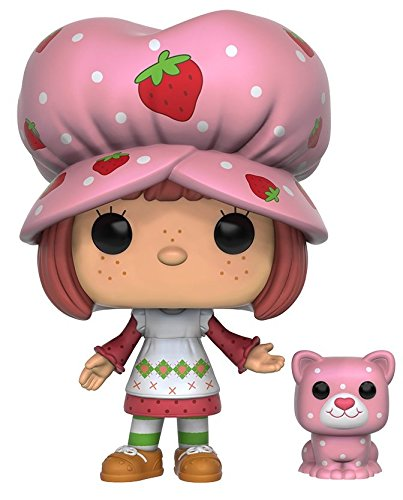 Funko POP Animation: Strawberry Shortcake - Strawberry Shortcake & Custard Action Figure