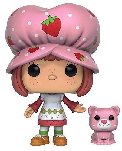 Funko POP Animation: Strawberry Shortcake - Strawberry Shortcake & Custard Action Figure - Vintage Strawberry Shortcake
