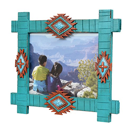 Black Forest Decor Southwestern Turquoise Picture Frame