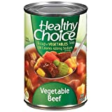 Healthy Choice Vegetable Beef Soup Cans 15OZ (Pack of 24)