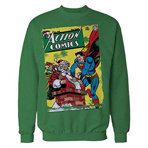 DC Comics Superman Cover 104 Xmas Official Sweatshirt