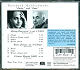 Berthold Goldschmidt: Early and Late -String Quartet No 1 op 8, Piano Sonata op 10, Clarinet Quartet