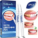 Teeth Whitening Pen(Pack of 2), Safe 35% Carbamide Peroxide Gel, 20+ Uses, Effective, Painless, No Sensitivity, Travel-Friendly, Easy to Use, Beautiful White Smile, Natural Mint Flavor