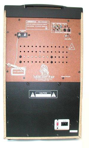 VocoPro DVD-Duet 80W CD / Dual Cassette / AM / FM Karaoke System by VocoPro (Image #4)