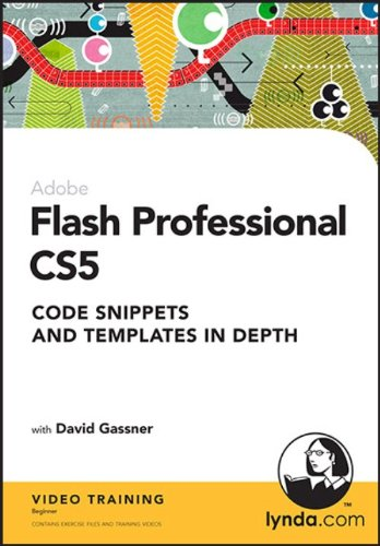 Flash Professional CS5: Code Snippets and Templates in - Professional Templates Flash