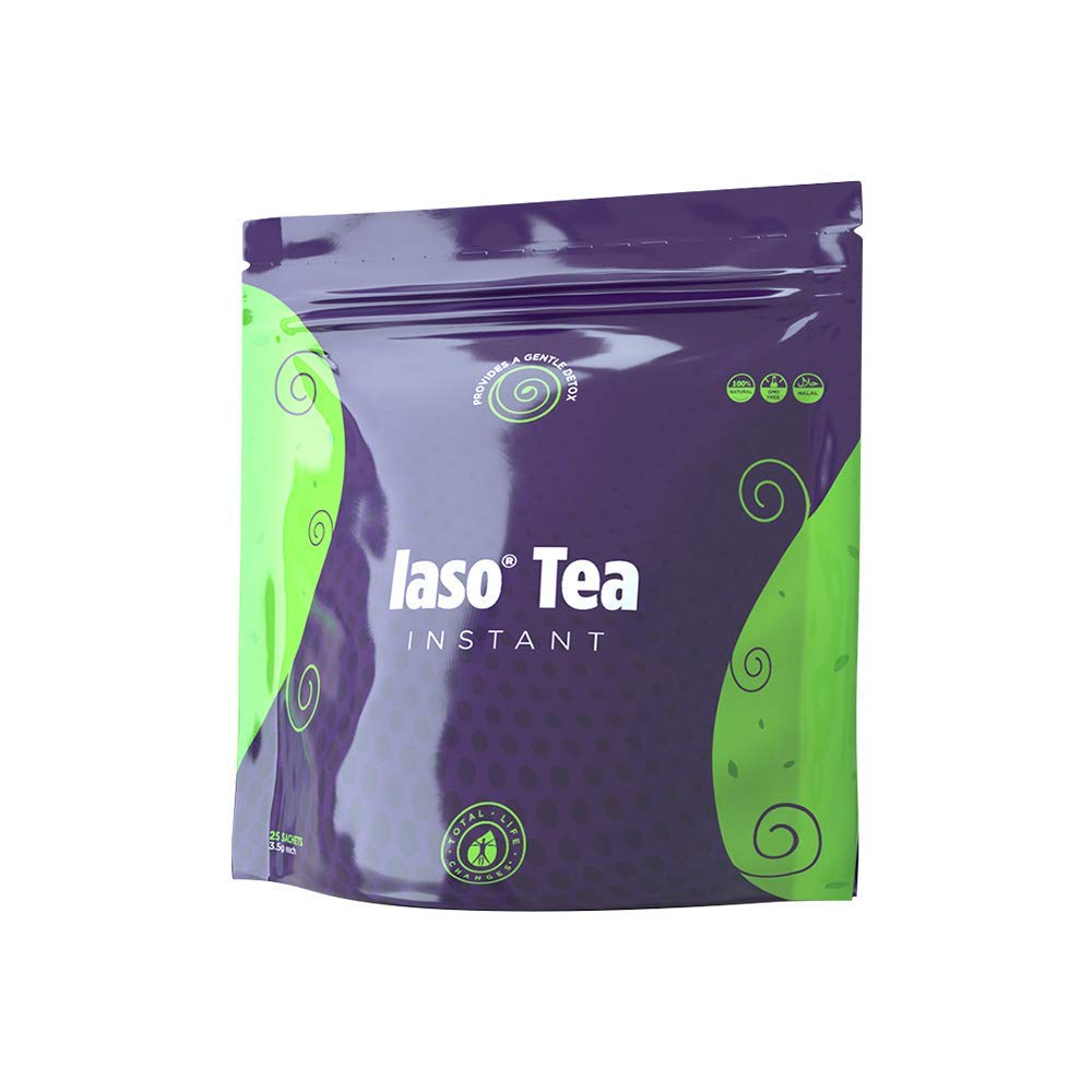 TLC Total Life Changes IASO Natural Detox Instant Herbal Tea (50 Sachets) Packaging May Vary Between Old & New in 201 by Total Life Changes (Image #2)