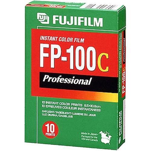 FUJIFILM FP-100C 3.25 X 4.25 Inches Professional Instant Color Film