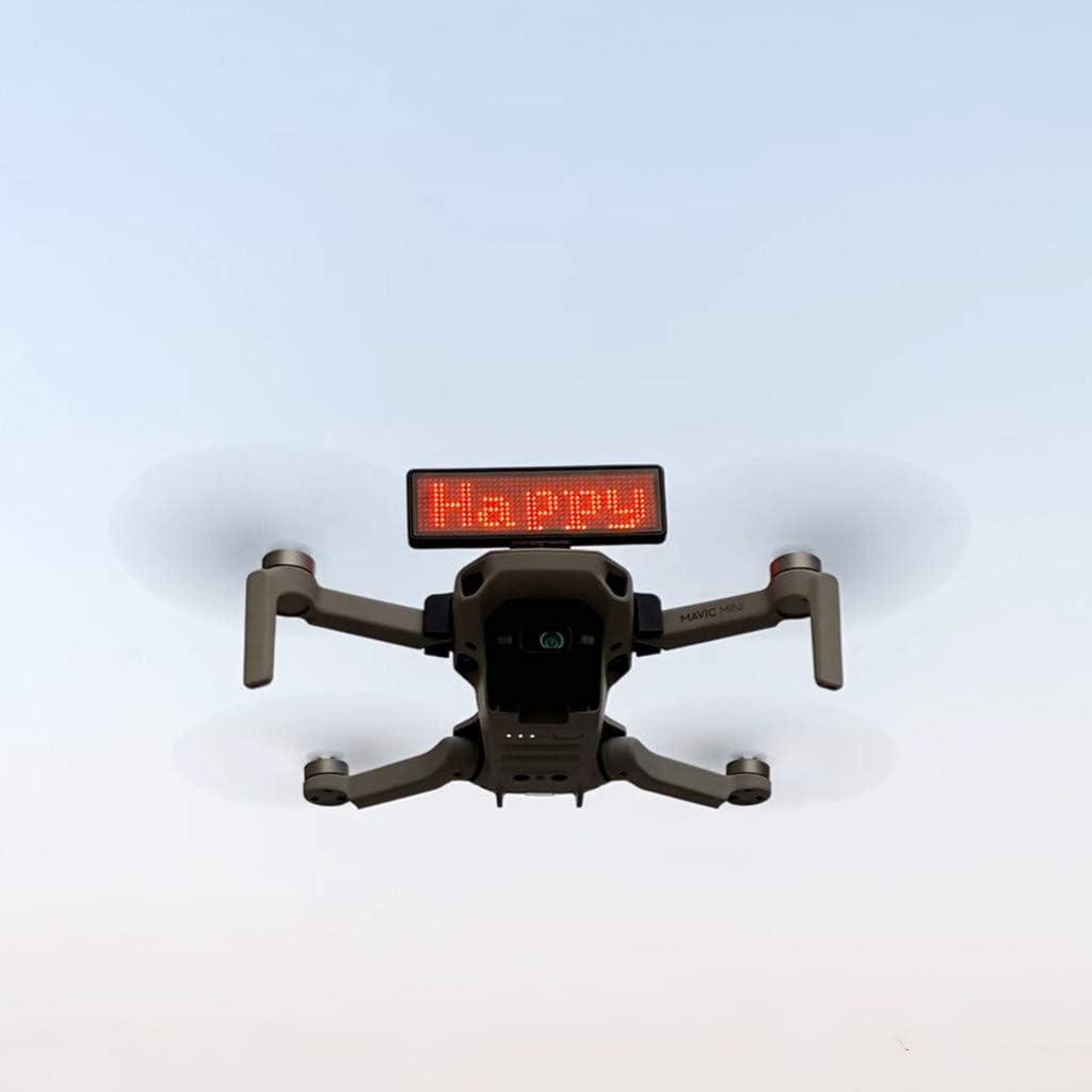 Lukame Accessori Di Drone Espositore a Led Supporto Per Dji Mavic Mini