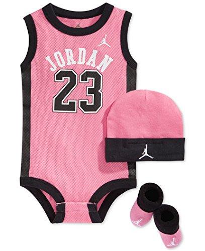 Jordan Baby Clothes 3 Piece Basketball Jersey Set 0 6