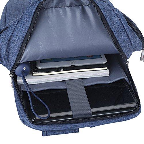 Business Freizeit Rucksack Nylon Gold Genus Hand Mention Männer Frauen Laptop Rucksack 3 uQvEYBT
