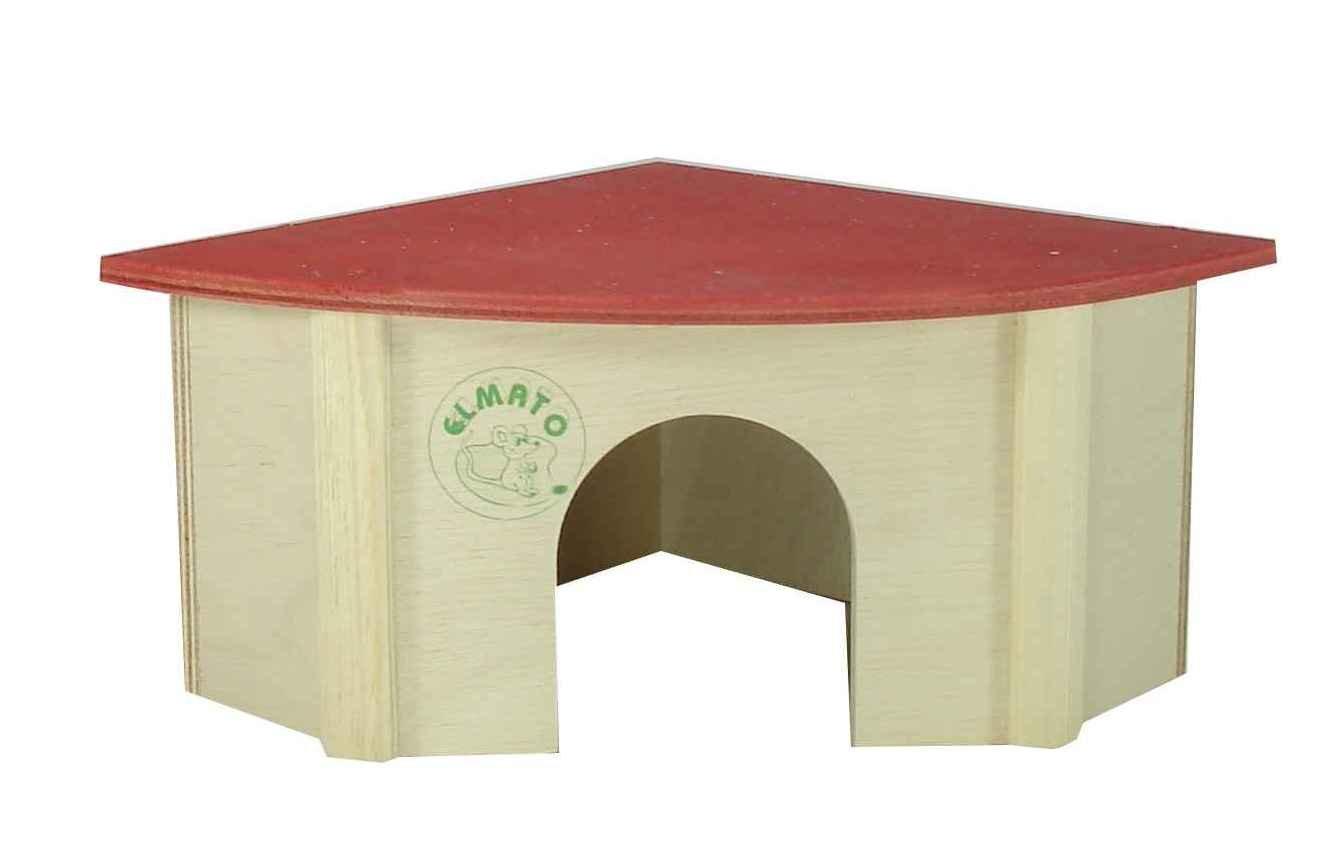 Elmato 10037 - Caseta de esquina para cobayas: Amazon.es: Productos para mascotas
