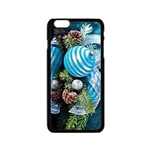 The Blue Christmas Lightball Hight Quality Plastic Case for Iphone 6