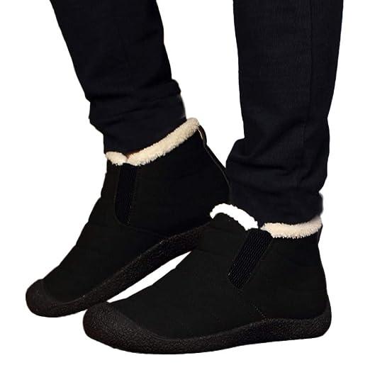 2c75e0625976d Memela Fashion Couple Men Women Winter Shoes Snow Boots Antiskid ...