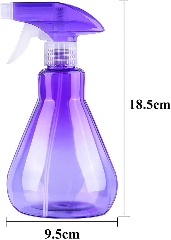 JPOYT-O 2X500ml Travel Bottle,Mist Spray Bottles Empty Plastic Bottles Trigger Sprayer For Cleaning(Color:D) C