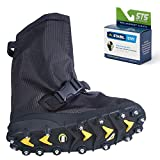 STABILicers Voyager Overshoe with Traction Cleats for Ice & Snow, Fits Over Shoes/Boots, Made in USA, 25 Replacement Cleats Included, Size XS