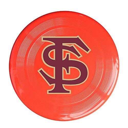 Bro-Custom Florida State University FS Logo Disc For Unisex Size One Size Red