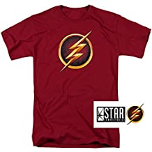 Popfunk The Flash TV Series Logos T Shirt & Exclusive Stickers