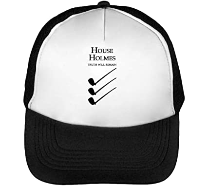 House Holmes Truth Will Remain Gorras Hombre Snapback Beisbol ...