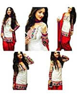 Crazy New Collection Party Wear Cotton Patiala Salwar Suits for women Semi Stiched
