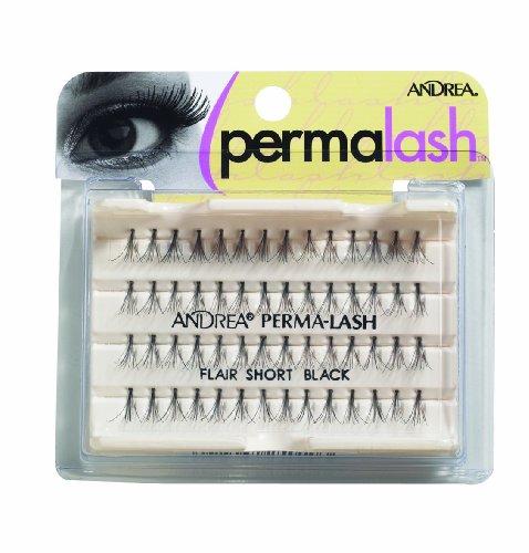 - Andrea Permalash Individual Lashes - Flair Short, 56-Count (Pack of 4)