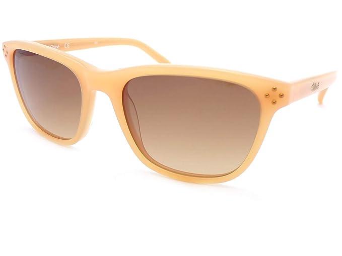 26afaff6db4 Chloe Boxwood Small Fit Sunglasses Soft Peach CE3604S 749  Amazon.co.uk   Clothing