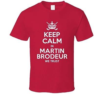 Amazon Com Keep Calm In Martin Brodeur We Trust New Jersey Hockey