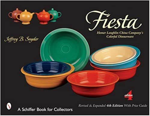 Télécharger des ebooks pour ipad Fiesta: The Homer Laughlin China Company's Colorful Dinnerware (Schiffer Book for Collectors) in French PDF by Jeffrey B Snyder