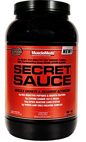 MuscleMeds Secret Sauce Punch, livre 3,1