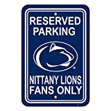 NCAA Official National Collegiate Athletic Association Fan Shop Authentic Parking Sign. Stake Your Territory with This Sign. Great for the Office or Man Cave.