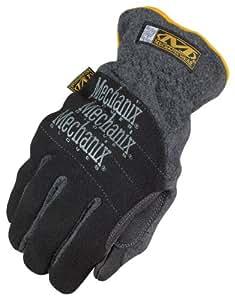 Mechanix Wear Cold Weather Fleece Utility Gloves - Black, Small, Model# MCW-UF-008