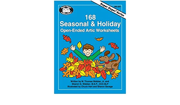 168 Seasonal & Holiday Open-Ended Artic Worksheets (Super Duper ...