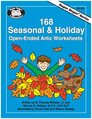 168 Seasonal & Holiday Open-Ended Artic Worksheets (Super Duper (Worksheets Halloween For Kids)