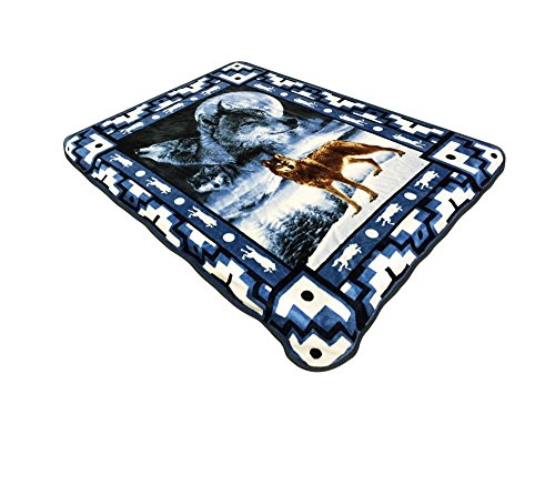 All American Collection New Super Soft Animal Printed Throw Blanket Anna (50