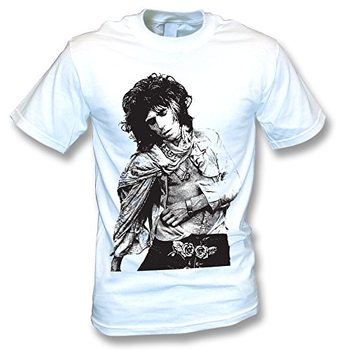 Keith Richards Photo T-shirt, Color White