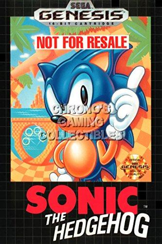 Sonic CGC Huge Poster Glossy Finish The Hedgehog Sega Genesis - SON001 (16