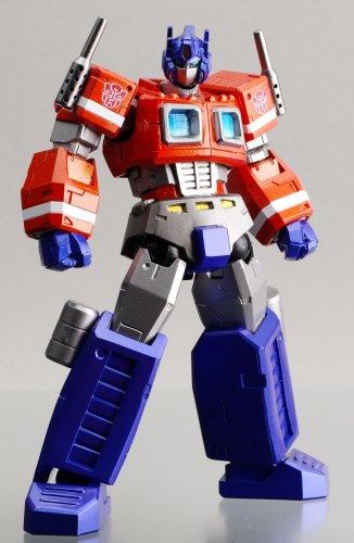 Transformers: Cybertron Commander Optimus Prime Convoy Revoltech Action Figure