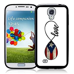 Cool Painting Puerto Rican Love Puerto Rico Flag Infinity Love ThinShell Case Protective Galaxy S4 case SIV case i9500