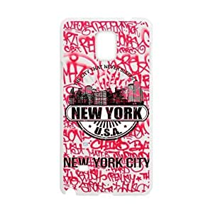 Canting_Good New york city Custom Case for SamSung Galaxy Note4 (Laser Technology)